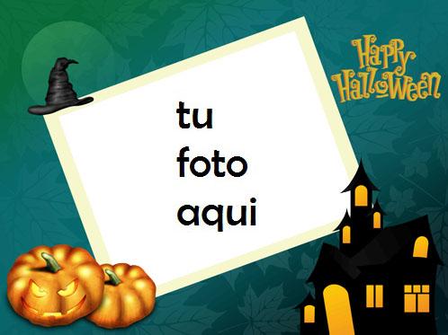 marco para foto calabaza diabolica halloween marcos - marco para foto calabaza diabolica halloween marcos