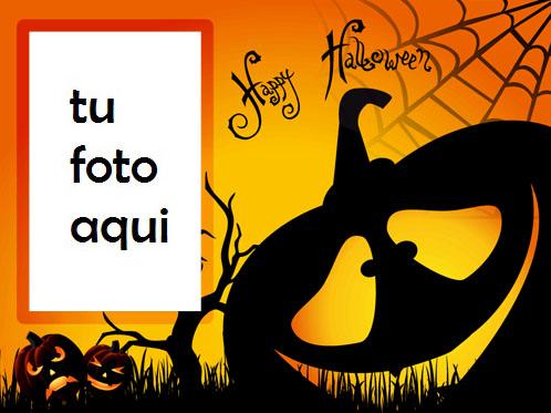 marco para foto calabaza loca halloween marcos - marco para foto calabaza loca halloween marcos