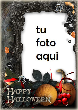 marco para foto halloween en el viejo castillo halloween marcos - marco para foto halloween en el viejo castillo halloween marcos
