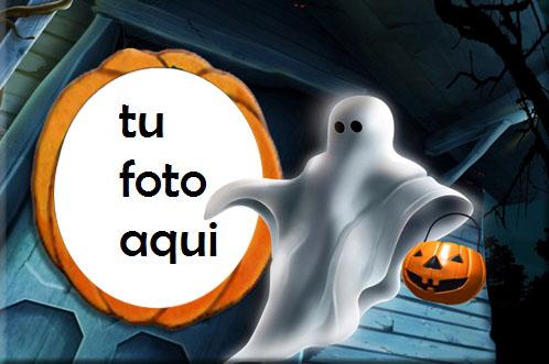 marco para foto marco de halloween con una bruja sentada en una calabaza halloween marcos - marco para foto marco de halloween con una bruja sentada en una calabaza halloween marcos