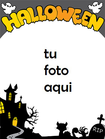 marco para foto saludos con halloween halloween marcos - marco para foto saludos con halloween halloween marcos