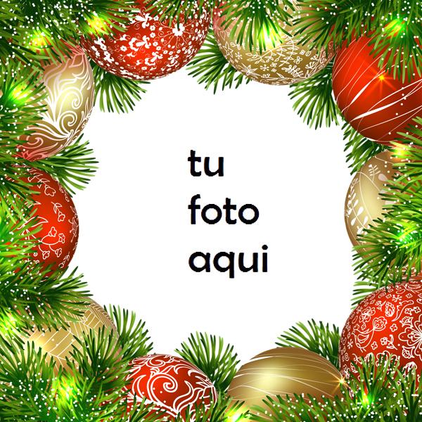 Marco Para Foto Adornos De Campanas De Navidad Navidad Marcos - Marco Para Foto Adornos De Campanas De Navidad Navidad Marcos