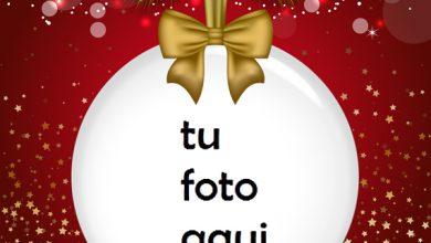 Marco Para Foto Bola Navideña Navidad Marcos 390x220 - Marco Para Foto Bola Navideña Navidad Marcos