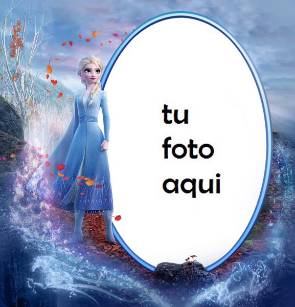 Marco Para Foto Elsa Congelado 2 Niños Marcos - Marco Para Foto Elsa Congelado 2 Niños Marcos