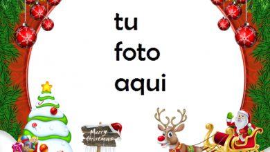 Photo of Marco Para Foto Feliz Navidad Navidad Marcos