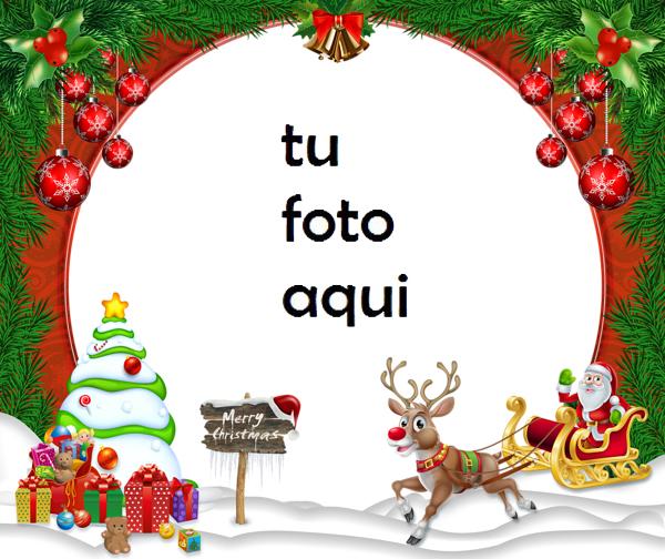 Marco Para Foto Feliz Navidad Navidad Marcos - Marco Para Foto Feliz Navidad Navidad Marcos