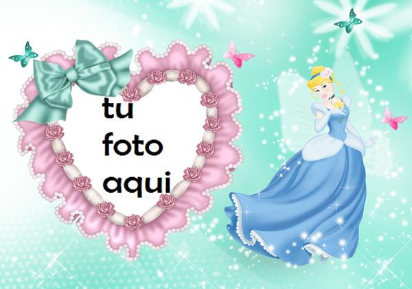 Marco Para Foto La Princesa Cenicienta Niños Marcos - Marco Para Foto La Princesa Cenicienta Niños Marcos