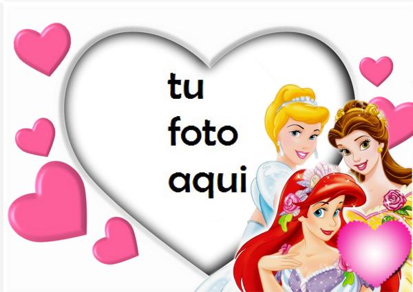 Marco Para Foto Las Princesas Blancas Niños Marcos - Marco Para Foto Las Princesas Blancas Niños Marcos