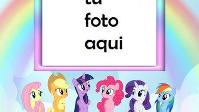 Photo of Marco Para Foto Mi Pequeño Pony Niños Marcos