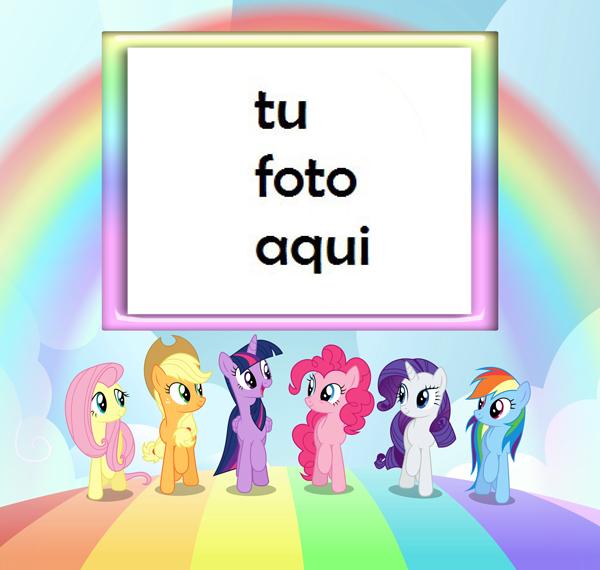 Marco Para Foto Mi Pequeño Pony Niños Marcos - Marco Para Foto Mi Pequeño Pony Niños Marcos
