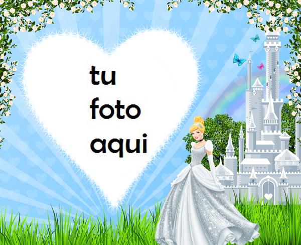 Marco Para Foto Princesa Cenicienta Niños Marcos - Marco Para Foto Princesa Cenicienta Niños Marcos