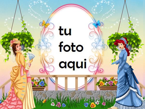 Marco Para Foto Princesa Moderna Niños Marcos - Marco Para Foto Princesa Moderna Niños Marcos