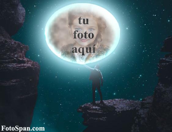 cara en luna Amor Marcos - cara en luna Amor Marcos