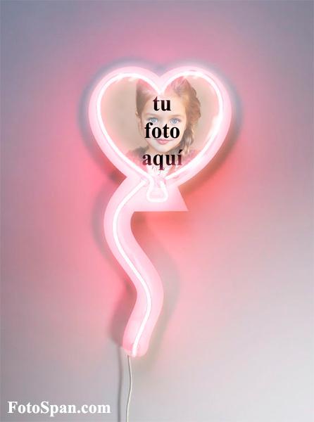 marco de fotos de corazón rosa - marco de fotos de corazón rosa