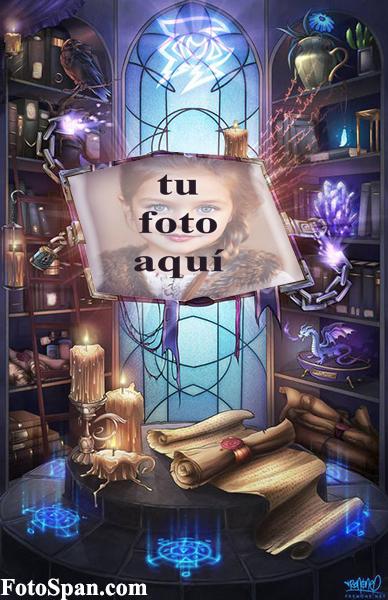 marco de fotos del libro mágico - marco de fotos del libro mágico