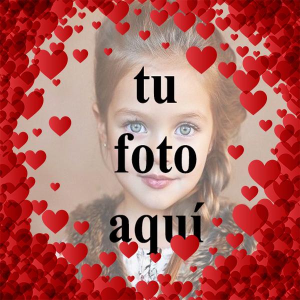 Corazones de San Valentín Foto Marcos - Corazones de San Valentín Foto Marcos