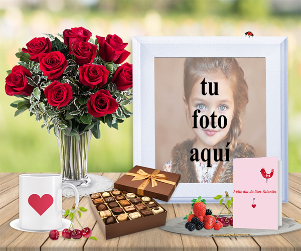 Te amo con todo mi corazon marco para foto - Te amo con todo mi corazon marco para foto