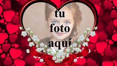 Photo of Una corona de rosas para el día de San Valentín