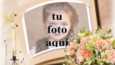 Álbum de fotos con velas románticas. foto marcos 390x220 - Álbum de fotos con velas románticas. foto marcos