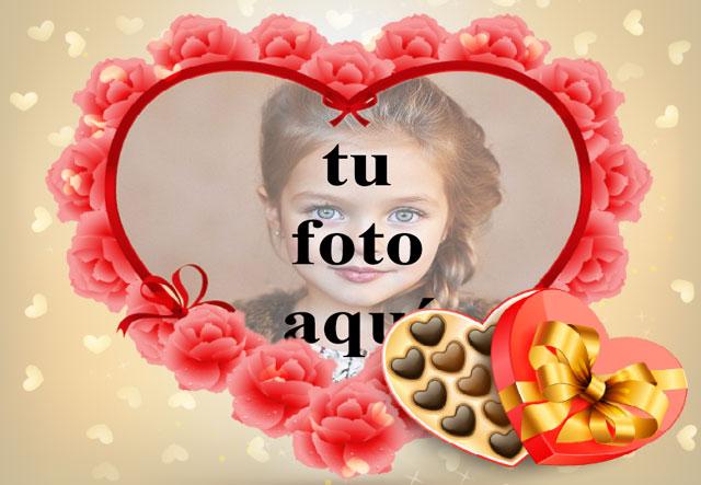 Barra de chocolate de regalo de amor foto marcos - Barra de chocolate de regalo de amor foto marcos