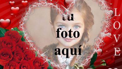 Photo of Corazones llenos de amor y esperanza. foto marcos