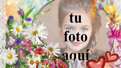 Photo of Flores y pintura de amor foto marcos
