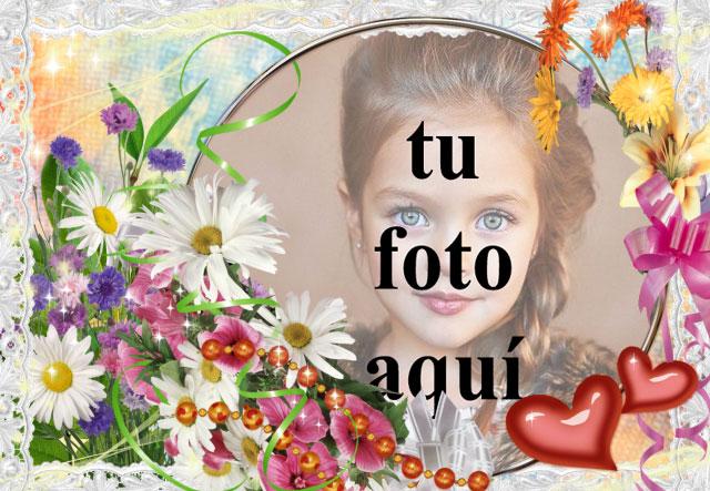 Flores y pintura de amor foto marcos - Flores y pintura de amor foto marcos