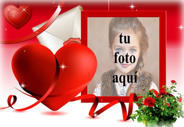 Maravillosa tarjeta de amor hermosa foto marcos - Maravillosa tarjeta de amor hermosa foto marcos