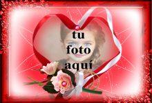 Marco suave en forma de corazón foto marcos 220x150 - Marco suave en forma de corazón foto marcos