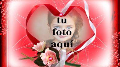 Photo of Marco suave en forma de corazón foto marcos