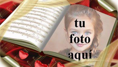 Photo of Portada del libro de música foto marcos