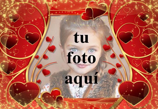 Taza de amor y corazones foto marcos - Taza de amor y corazones foto marcos