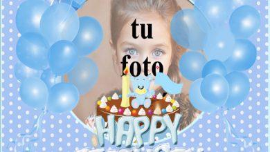 Decoración De Fiesta De Cumpleaños Azul Marcos para fotos 390x220 - Decoración De Fiesta De Cumpleaños Azul Marcos para fotos