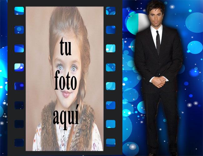 Enrique Iglesias Marco de foto - Enrique Iglesias Marco de foto