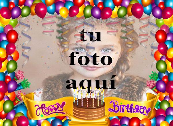 Pastel De Feliz Cumpleaños Con Velas Marcos para fotos - Pastel De Feliz Cumpleaños Con Velas Marcos para fotos