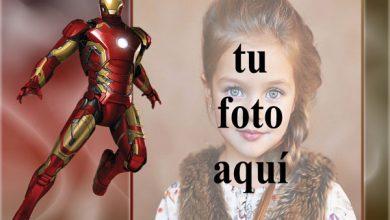 Photo of el marco de fotos del hombre de hierro de los vengadores