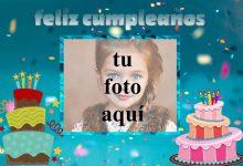 feliz cumpleaños marco de fotos dos pastel 220x150 - feliz cumpleaños marco de fotos dos pastel