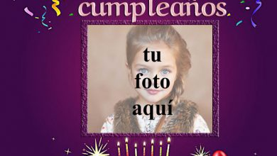Photo of feliz cumpleaños marco de fotos fiesta