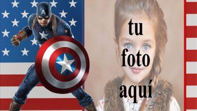Photo of los vengadores capitán américa marco de fotos