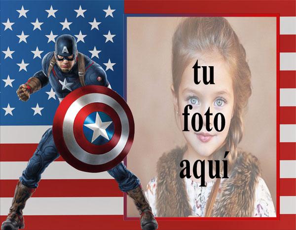 los vengadores capitan america marco de fotos - los vengadores capitán américa marco de fotos