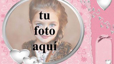 marco de fotos de corazón blanco con fondo rosa 390x220 - marco de fotos de corazón blanco con fondo rosa