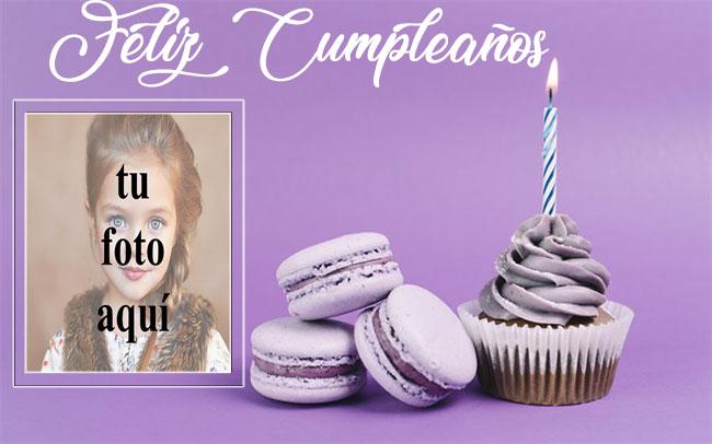 marco de fotos de feliz cumpleaños con pastel beskuit - marco de fotos de feliz cumpleaños con pastel beskuit