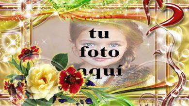 Photo of marco de fotos de la alegría del amor