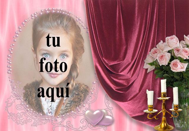 marco de fotos romantico ventana - marco de fotos romántico ventana