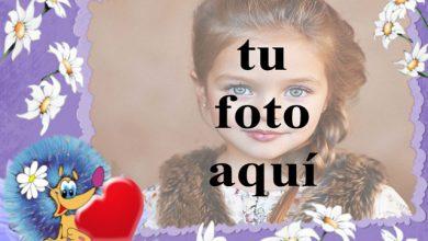 Marco de fotos rosa jazmin con marco morado 390x220 - Marco de fotos rosa jazmín con marco morado