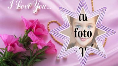 Photo of la estrella romantica tu mejor marco de fotos