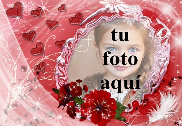 marco de fotos muy romantico para tu foto de amor - marco de fotos muy romántico para tu foto de amor