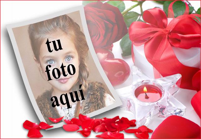 marco de fotos romantico de rosas rojas virgenes - marco de fotos romántico de rosas rojas vírgenes