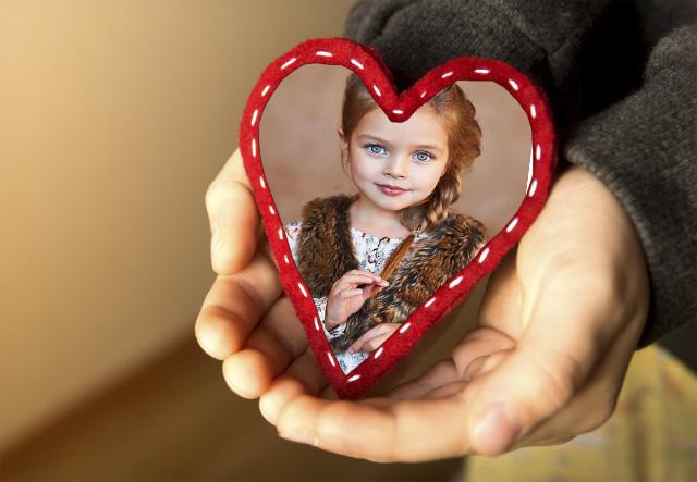 marco de fotos romantico mi corazon en tu mano de bondad - marco de fotos romantico mi corazon en tu mano de bondad