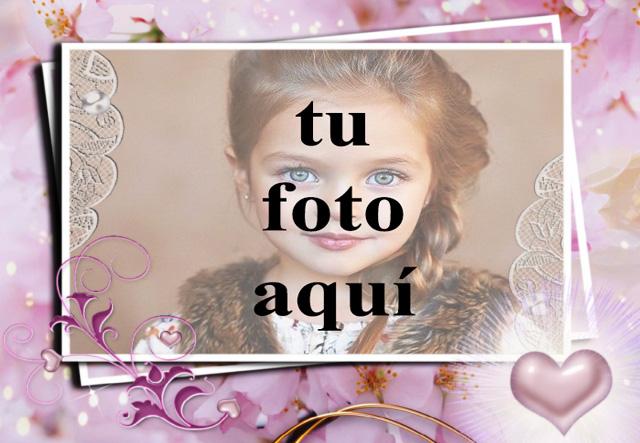 papel de marco de fotos muy romantico y tu foto dentro - papel de marco de fotos muy romántico y tu foto dentro